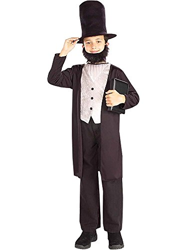 Kids Abraham Lincoln Costume -  Medium -