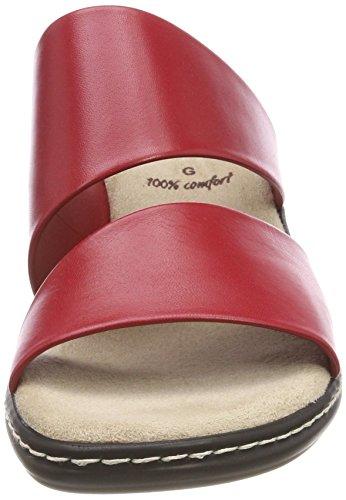 Mules 27205 Femme Jana Red Rouge CUHvwqB