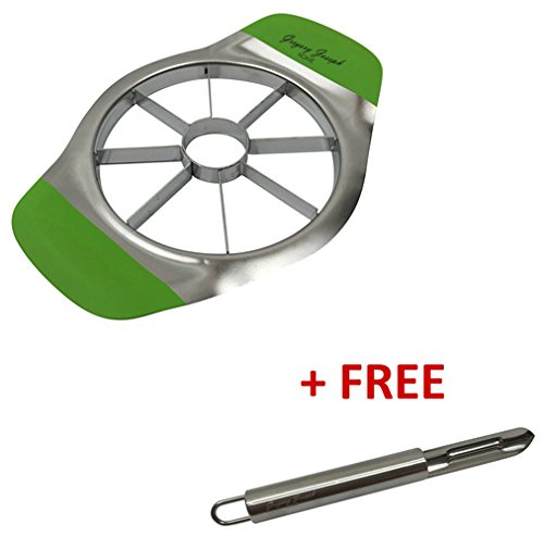 gregory-joseph-home-stainless-steel-apple-slicer-and-corer-with-free-peeler