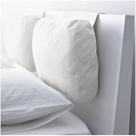Testiere Letto Cuscino Ikea.Ikea Skogn Cuscino Rostanga Bianco 65 X 40 Cm Amazon It Casa