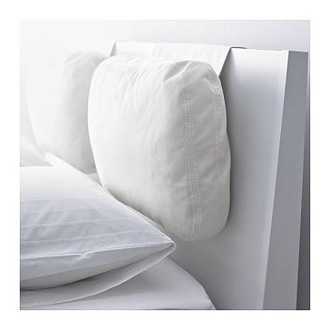 Cuscino Per Leggere A Letto Ikea.Ikea Skogn Cuscino Roestanga Bianco 65 X 40 Cm Amazon It Casa E