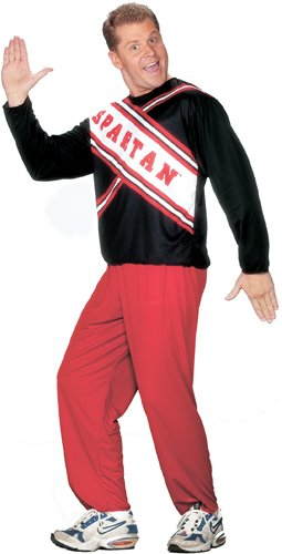 Costume Express Logo (Spartan Cheerleader Adult Male Halloween Costume)