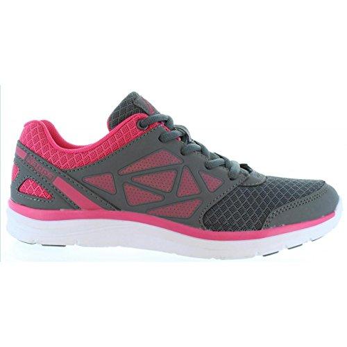 Chaussures de sport pour Garçon et Fille KAPPA 303N310 FANGER 950 DK GREY-PINK