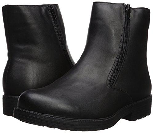Pictures of Propet Men's Troy Chelsea Boot Black Black 4