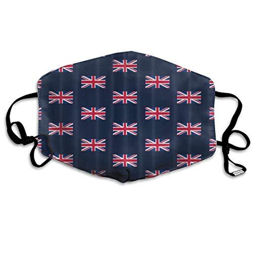 UK Flag Union Jack Face Masks Breathable Dust Filter Masks Mouth Cover Masks with Elastic Ear -