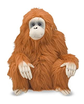 Melissa Doug Orangutan In Plush by Melissa & Doug