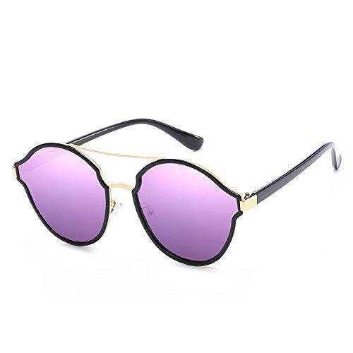 Sunyan personnalité, l'élégant nouveau style, les yeux, les lunettes de soleil, lunettes, lunettes, women's visage rond, Corée 3723,l'Argenterie