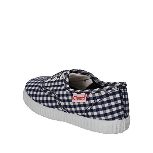 CIENTA Sneakers Niños Textil (22 EU, Azul/Blanco)