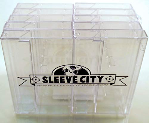 Clear Norelco Cassette Case (10 Pack) (Cassette Tape Jewel Case)