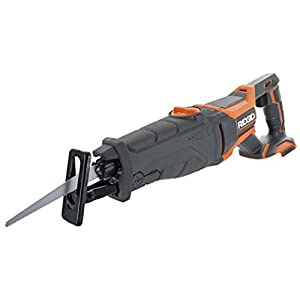 Ridgid R8642 Gen5X 18V Lithium Ion Cordless Reciprocating Saw with Tool-Free Blade Changing, Sight Line Blowing, and Variable Orbital Settings (Battery Not Included, Tool Only)