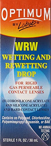 Lens Rewetting Drops (Lobob Optimum Wetting And Rewetting Drops - 1 oz.)