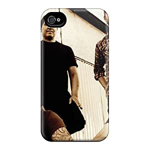 MansourMurray Iphone 4/4s High Quality Hard Phone Case Customized Attractive Foo Fighters Pattern [fjf16454pDsD]