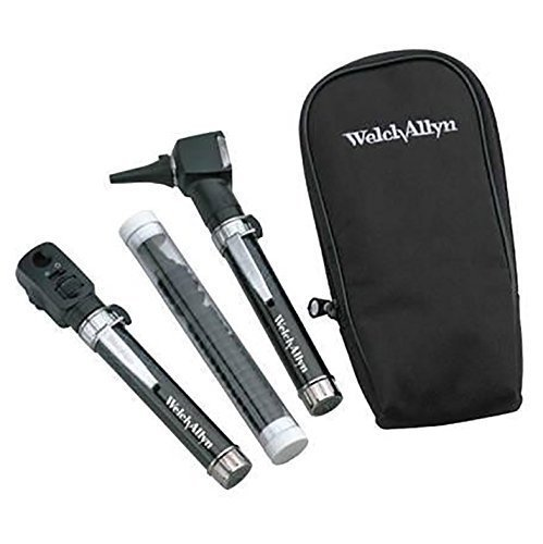 Ophthalmoscope Otoscope (Welch Allyn Diagnostic Set, Soft Case Pocket Junior)