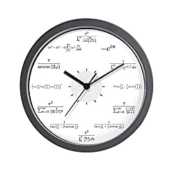 CafePress - Math Wall Clock (White Background) - Unique Decorative 10 Wall Clock