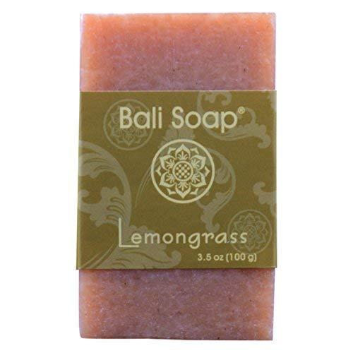 - Bali Soap - Lemongrass Natural Soap Bar, Face or Body Soap, Best for All Skin Types, For Women, Men & Teens, Pack of 3, 3.5 Oz each
