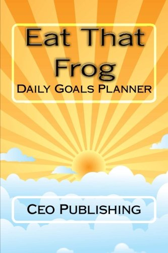 Eat That Frog: Daily Goals planner
