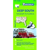 Deep South Zoom Map 177 (Michelin Zoom Maps)