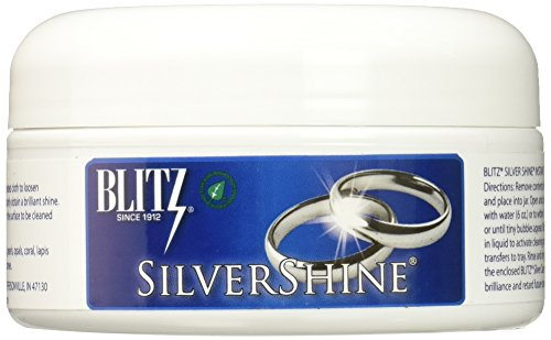 Blitz 681 Silver Shine Instant Silver Jewelry Cleaner Wide-mouth jar, 8 oz (Watch Box Chris)