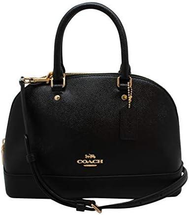 Coach Mini sac à main Sierra en cuir grainé avec bandoulière ...