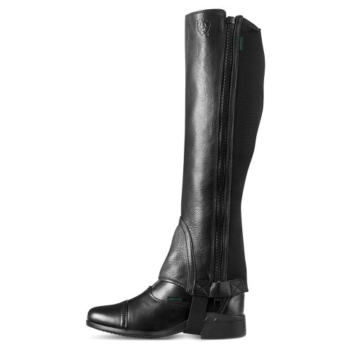 Breeze Chaps Unisex Black Chap Ariat Half YfPqxR