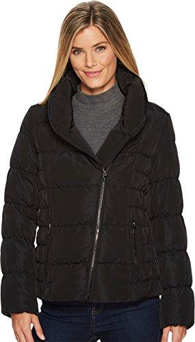 Zip Front Quilted Coat - 9