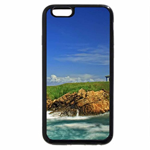iPhone 6S / iPhone 6 Case (Black) lighthouse on a wonderful island in spain