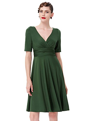 1950s-Pin-Up-Vintage-Dresses-for-Women-BP0006-Multi-Colored