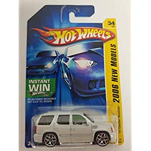 '07 Cadillac Escalade Spoked Rims Instant Win Package No. 034 New Models Hot Wheels 2006 1/64 scale diecast car