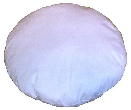 32 Inches Diameter Round Meditation Seating Ottoman Living Room Decor Home Decor Cotton Round Pillow Shams Stuffer Pouf Ottoman Floor Pouf & Cushion Decorative Pillow Insert (1 piece)    (Pillow Poof)
