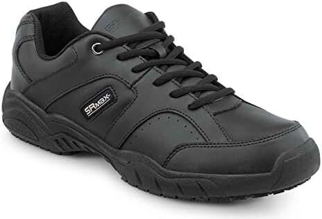SR Max Fairfax Men's Black Slip Resistant Sneaker