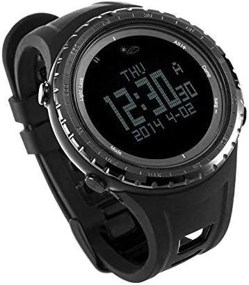 Reloj digital deportivo SUNROAD FR801B para hombre con barómetro, podómetro, altímetro, etc. Colo negro