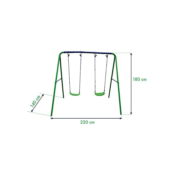 41sZGr8Ut3L Estructura de acero zincado anticorrosión Asiento de pvc resistente y con tratamiento uv Fácil montaje y mantenimiento