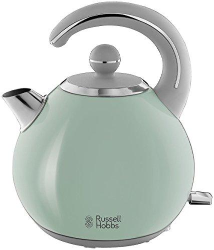 Russell Hobbs Bubble - Hervidor de Agua Electrico (2300 W, 1,5l, Acero Inoxidable, Verde Pastel) - ref 24404-70