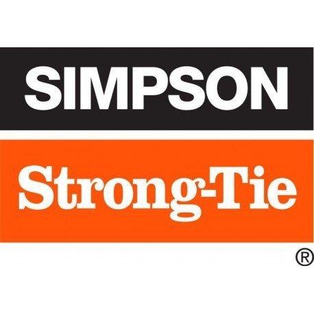 SIMPSON STRONG-TIE ref SAE340//60//2 Sabot /à ailes ext/érieures T340 Largeur 60 Hauteur 140 Profondeur 84