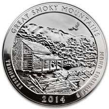 2014 S America the Beautiful Tennessee Great Smoky Mountains Proof Quarter PF1
