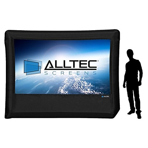 """Alltec 137"""" Diagonal  Inflatable Outdoor Projection Screen,"""