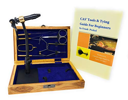 Colorado Anglers Z797 Wooden Fly Tying Standard Tool Kit