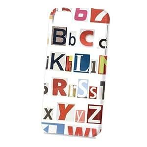 Case Fun Apple iPhone 5 / 5S Case - Vogue Version - 3D Full Wrap - Alphabet