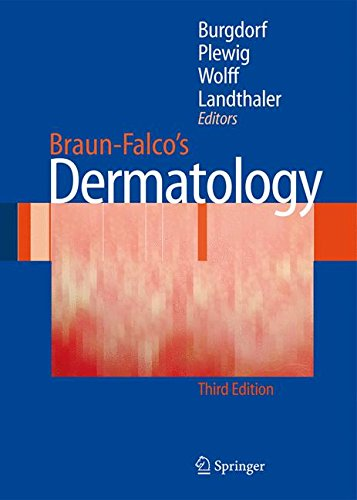 Book cover from Braun-Falco´s Dermatology by Michael Elsohn Ross
