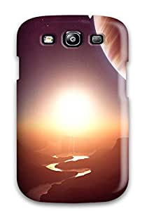Snap-on Case Designed For Galaxy S3- Sunrise