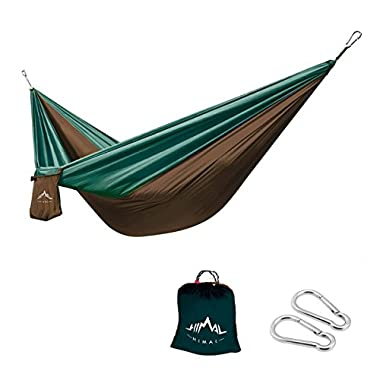 Himal Outdoor Travel Camping Multifunctional Hammocks (ArmyGreen-Brown)