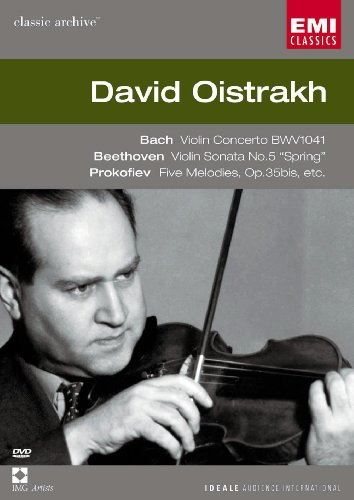 - Bach Violin Concerto in A minor, Beethoven Violin Sonata No. 5, Prokofiev: Five Melodies / David Oistrakh