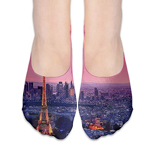 No Show Socks Eiffel Tower Wallpapers Cool Womens Low Cut Sock Boat Invisible Socks For -