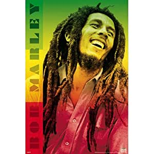 24x36 bob marley colors music poster prints posters prints. Black Bedroom Furniture Sets. Home Design Ideas