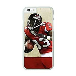 NFL iPhone 6 White Cell Phone Case Atlanta Falcons QNXTWKHE0716 NFL Hard Fashion Phone Case Covers