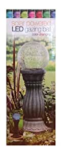 Solar Powered LED Gazing Ball Color Changing