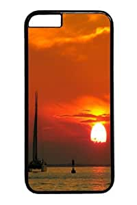 Catamaran Polycarbonate Hard Case Cover for iphone 6 plus 5.5 inch Black