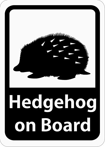 Craft Bunny ( Japan ) Car Magnet Sticker Hedgehog/Hedgehog on ()