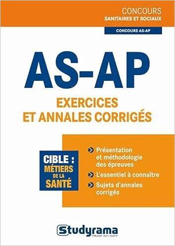 Livre AS-AP exercices et annales corrigés pdf