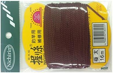 日輪 握リ糸(普通色) 極太 茶